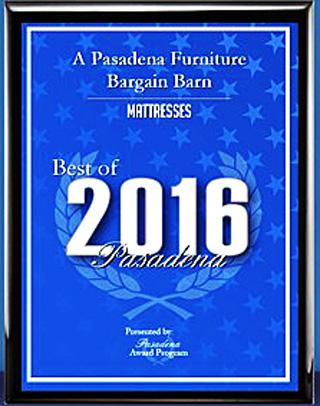 Best               of Pasadena 2016 for mattress stores in Pasadena