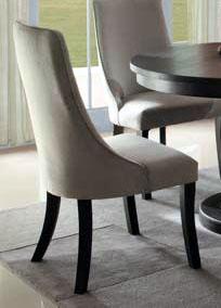 Gray         slingback chair