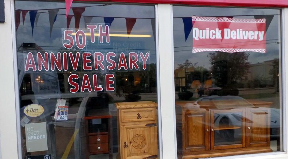 50th             Anniversary Sale!