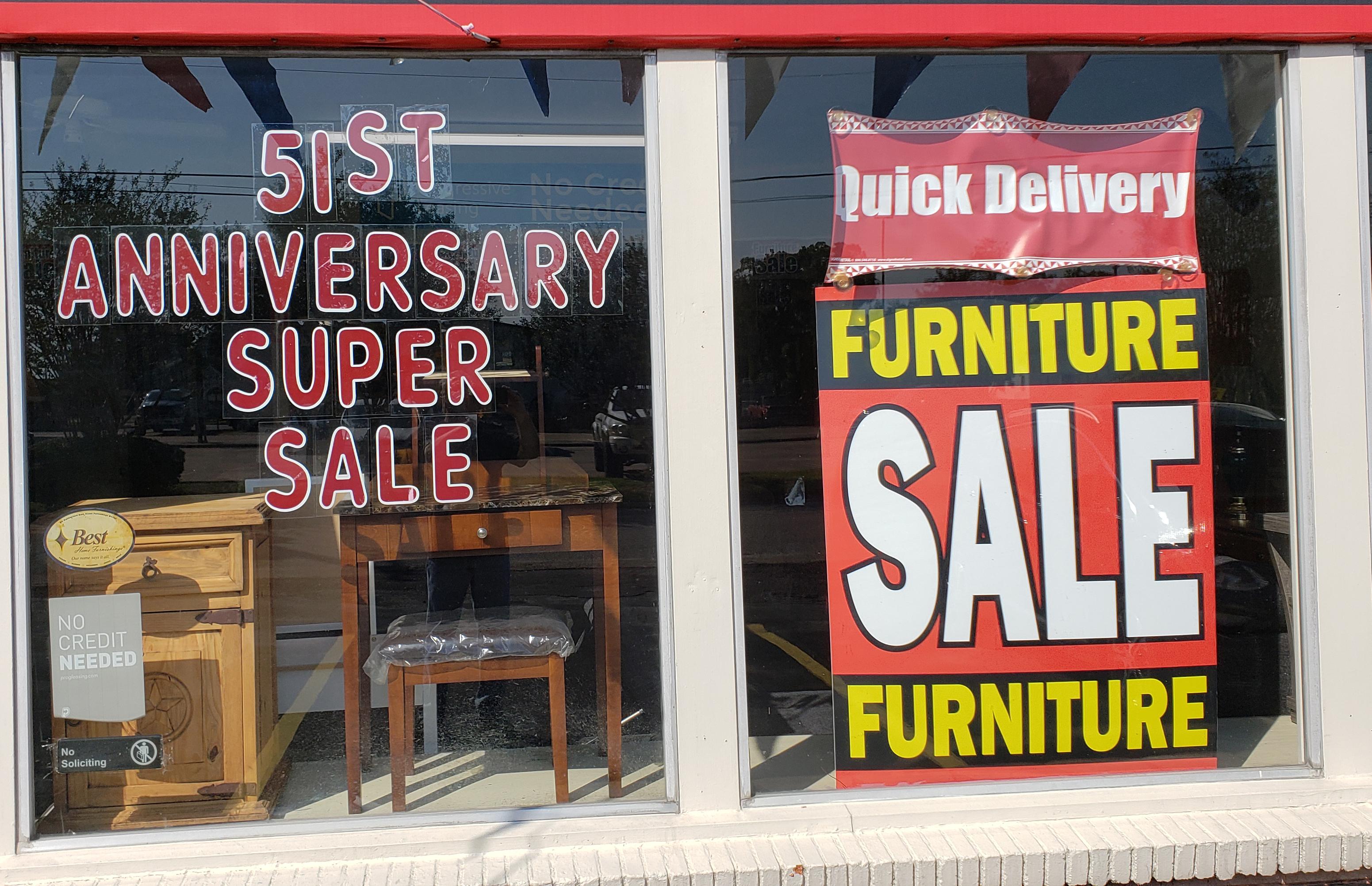 51st               Anniversary Sale!