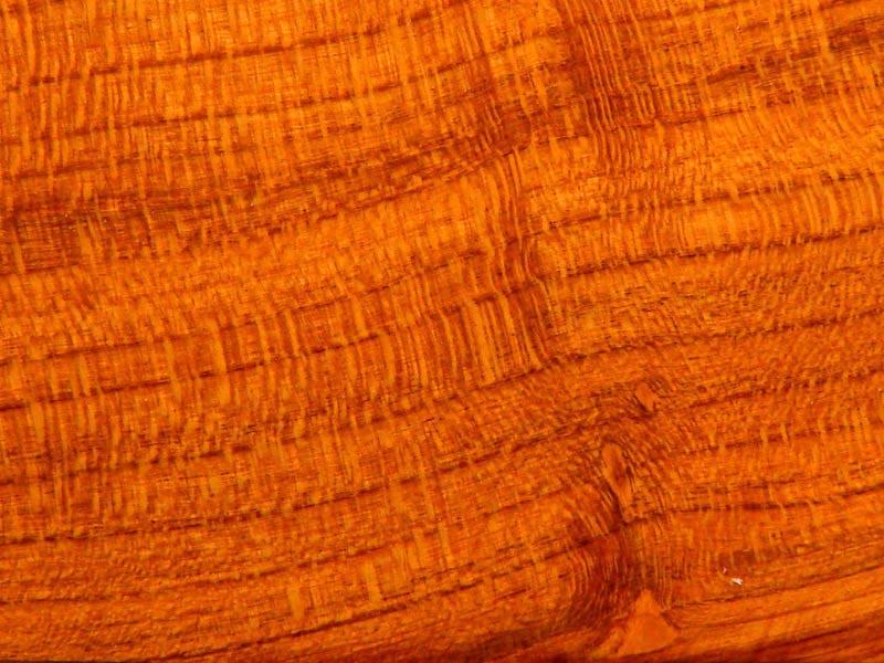 Peachwood in furniture construction