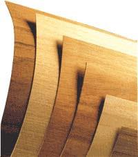 Many cosmetic hardwoods come in fine               veneers